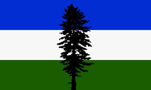 Proposed flag for Cascadia