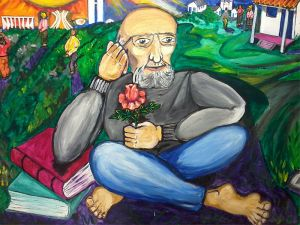 Painel Paulo Freire by Luiz Carlos Cappellano via Wikimedia Commons